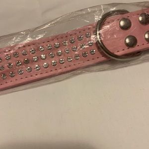 NWT Blinged out Dog Collar